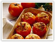 Recipe Of The Week - Tomatoes Stuffed With Herbed Fish Stuffing (Macchi-Tamatar)