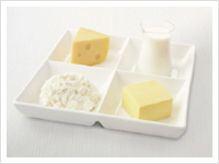 Tofu, soya milk, are a good source of vitamin B12