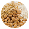 Good fats - almonds - HDL raising fats